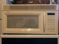 White general electric microwave oven East Liverpool, 43920