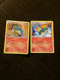 two Pokemon Cyndaquil and Quilava trading cards Cleveland, 37311
