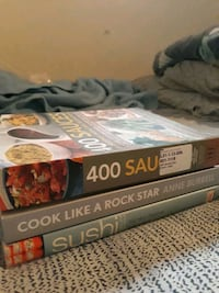 3 Cooking Books  Denver, 80236