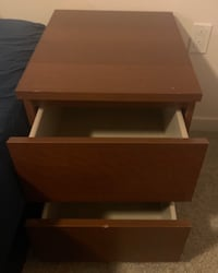 Ikea Bed Side Table (brown)