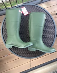 Hunter Boots Green Women's Size 9 NWT Skokie, 60077