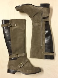 UGG KNEE HIGH BOOTS SUEDE LEATHER SHERPA LINED SIZE 9 WOMENS SHOES FALL Edmonton, T6H 4L4