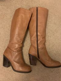 Nine West size 6.5 leather boot Vancouver, V6A 2A8