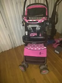 Lighty used stroller with matching car seat Interstate 295, 20032