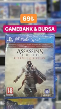 Ps4 ASSASSINS CREED COLECTİON  Nilüfer, 16140