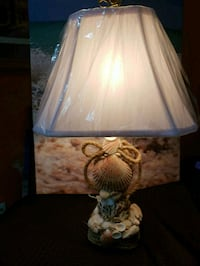 white and blue floral table lamp 159 km
