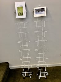 Pair of Hanging Display Racks for Cards