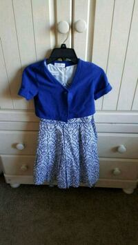 blue and white dress Summerville, 29483