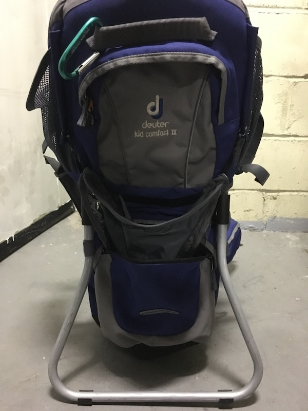 ac9b65ecf1d Used Baby Camping Backpack Deuter Kid Comfort 2 for sale in New York ...