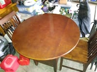 Pub table and 2 chairs 301 mi