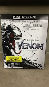 4K Venom Bluray  Ajax, L1S 7K8