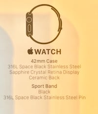 Apple I Watch 42 mm