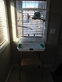 Vision medium sized cage with see tree and and accessories. Spruce Grove, T7X 0N4