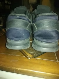 pair of gray-and-black high top sneakers Des Moines, 50313