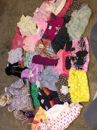 Baby girl mixed season lot! There are 100 pieces! Size are newborn to 12 months Pottsville, 17901