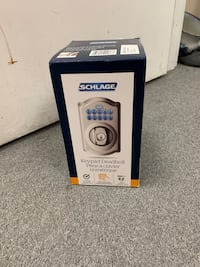Brand new sealed Schlage keypad deadbolt Toronto, M1R 2Z1