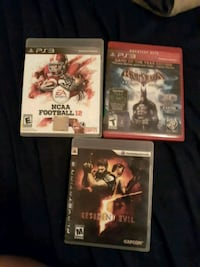 Ps3 games (sold RE5) Omaha, 68107