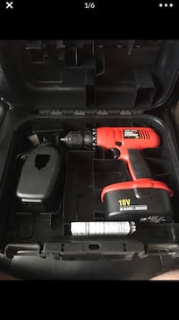 Black and Decker 18V Fire Storm Cordless Drill Sioux Falls, 57108