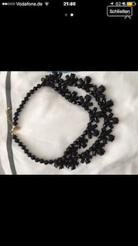black beaded necklace screenshot Wuppertal, 42275