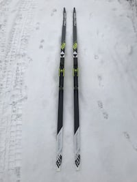 NYE Fisher Twin Skin Team felleski m/ racing binding