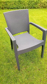 grey wicker armchair Montreal, H2A 2P1
