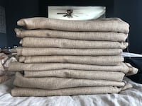 """84"""" curtains with grommets (10 in total) Alexandria, 22306"""