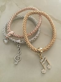 How cute are these darling stretchie musical note bracelets adorable Lincoln, 95648