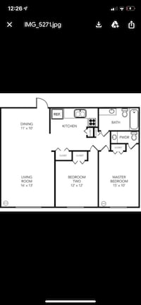Lease take over immediate move in. Feb rent paid 2BR 1.5BA