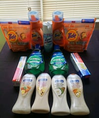 Tide Laundry Detergent Personal Care Lot Hyattsville, 20785