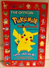 """""""The Official Pokemon Handbook"""" by Maria S. Barbo Used Paperback Book Pasadena, 21122"""