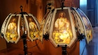 Jesus Touch Lamp Set Hollywood