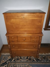 Wooden Secretary COLUMBUS
