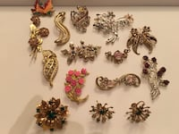 assorted gold-colored jewelries New York, 10018