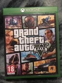 Grand Theft Auto Five Xbox One game case TORONTO