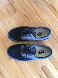 Black-and-gray vans low-top sneakers Vancouver, V6H 1L3