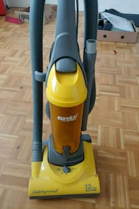 yellow and black Eureka upright vacuum cleaner Toronto, M2R 2S8