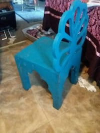Blue wicker (reinforced with steel) hanging chair Hartford, 50118