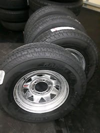 130 each. 15 inch trailer wheels Port St. Lucie, 34986