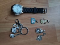 Watch, Keychain and necklace Vancouver, V6Z 1B7