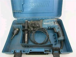 Makita 6.7 amp corded hammer drill with case