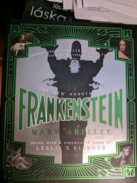 The new annotated Frankenstein (brand new)