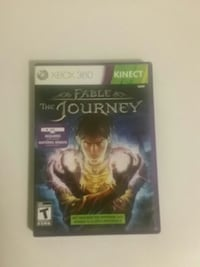 Fable The Journey XBOX 360 game case Toronto, M5A 2B6