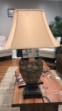 brown and white table lamp Lakewood, 90715