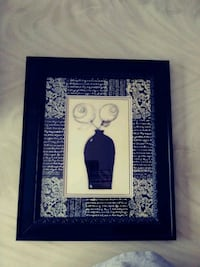 Black & beige wall picture frame