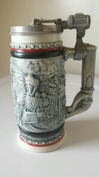 Beer stein handcrafted Brazil collection New Oak Creek, 53154