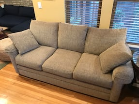 Like new tan sofas, two available