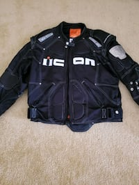 Icon racing jacket. XL Wellsville, 17365