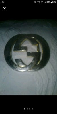 Gucci Belt buckle/Unisex/Authentic.
