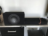 Sub and Amp Set Up