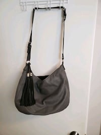 Large PU Grey Hobo bag with tassels Guelph, N1E 4G1